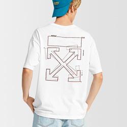 108847 유니크 비죠 스패로우 포인트 스트릿 반팔 티셔츠