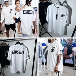 108926 유니크 올스타 프린팅 스트릿 반팔 티셔츠