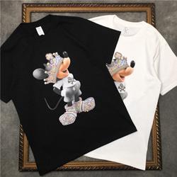 108862 유니크 캔디크라운 마우스 스트릿 반팔 티셔츠