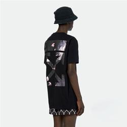 108853 유니크 페이머스 페인팅 에로우 스트릿 반팔 티셔츠