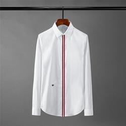 109037 유니크 삼선라인 포인트 긴팔 셔츠
