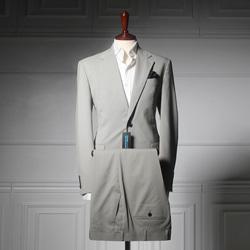 109197 모던 미니멀 고방체크 팬츠(Light Gray)