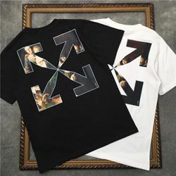 109181 유니크 명화 프린팅 에로우 반팔 티셔츠