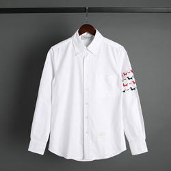 109539 퍼피 소매 완장 포인트 옥스포드 긴팔 셔츠