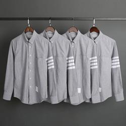 109513 유니크 사선 완장 포인트 긴팔 셔츠