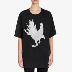 109609 유니크 스카이 유니콘 반팔 티셔츠