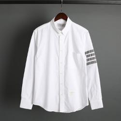 109572 옥스포드 사선 완장 포켓 긴팔 셔츠