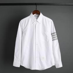 109567 옥스포드 지그재그 사선완장 긴팔 셔츠