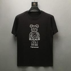 109730 유니크 기학 베어 프린팅 티셔츠