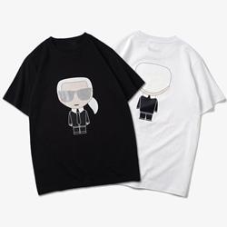109606 파리지앵 라파예트 프린팅 반팔 티셔츠