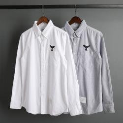 109584 옥스포드 히든 돌핀 포켓 긴팔 셔츠