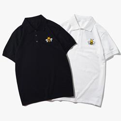 109612 유니크 미니 비 패치 포인트 PK 반팔 티셔츠
