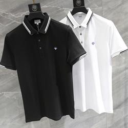 109316 피어 포인트 카라 소매 배색 PK 티셔츠