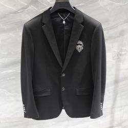 110171 다이아몬드 라파예트 프린팅 솔리드 자켓