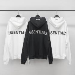 110031 에센션 리블렉션 프린팅 후드 티셔츠