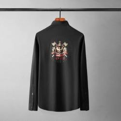 110117 로얄 엑스 히든버튼 긴팔 셔츠