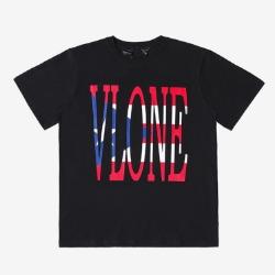 109961 푸에르토리코 V로고 라운드넥 반팔 티셔츠