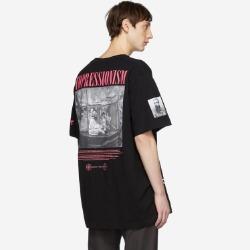 109928 임프레셔니즘 라운드넥 반팔 티셔츠