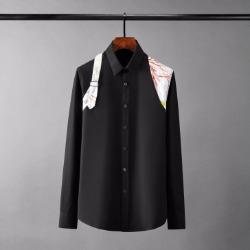 110093 메이플 숄더 덧댐 포인트 긴팔 셔츠