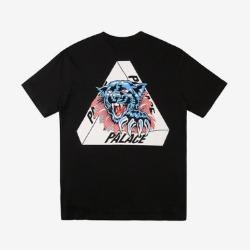 109947 타이거 트라이앵글 라운드넥 반팔 티셔츠