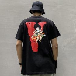 109914 큐피트 V 프린팅 라운드넥 반팔 티셔츠