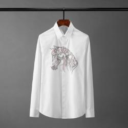 110120 레인보우 페가수스 히든버튼 긴팔 셔츠