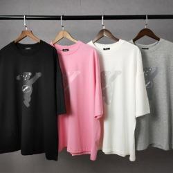 109915 에너지 베어 라운드넥 오버핏 반팔 티셔츠