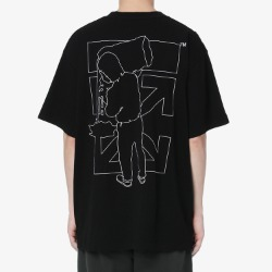109924 풀아웃 에로우 라운드넥 반팔 티셔츠