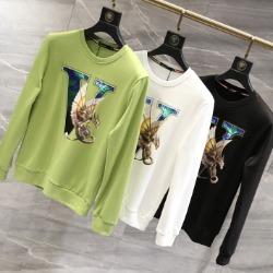 110192 V 드래곤 프린팅 라운드넥 맨투맨 티셔츠