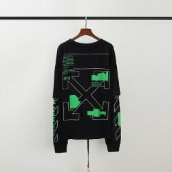 110312 에로우 고딕 프린팅 레이어드 맨투맨 티셔츠