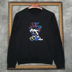 110254 바이올런스 테디베어 라운드넥 맨투맨 티셔츠