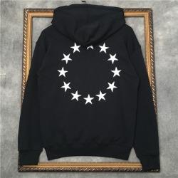 110250 스타 서클 프린팅 후드 티셔츠