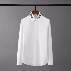 110416 프레임 카라 프린팅 긴팔 셔츠(2Color)
