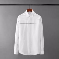 110420 벌자수 더블라인 스티치 긴팔 셔츠(2Color)