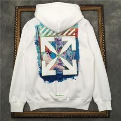 110816 네온 드로잉 에로우 기모 후드 티셔츠(2Color)