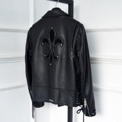 110645 CH 로얄 패치 소가죽 자켓(Black)