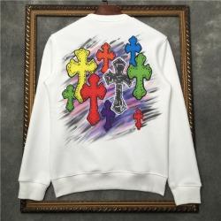 111015 CH 카툰 크로스 프린팅 기모 맨투맨 티셔츠(3Color)