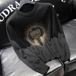 110879 라파예트 센터 다이아 프린팅 니트 스웨터(Black)