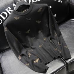 110939 멀티 피닉스 프린팅 니트 스웨터(Black)