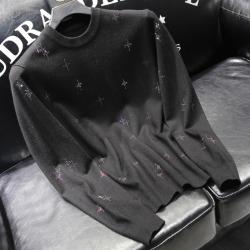 110885 KE 멀티 스타 비죠 니트 스웨터(Black)