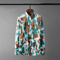 111028 페인팅 드로잉 실켓 긴팔 셔츠(2Color)