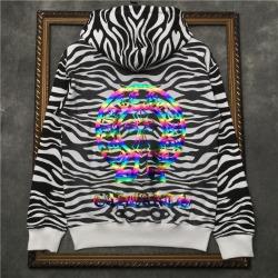111063 지브라 레터링 후드 티셔츠(Black)