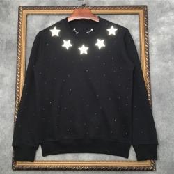111053 리플렉션 스타 패치 기모 맨투맨 티셔츠(2Color)