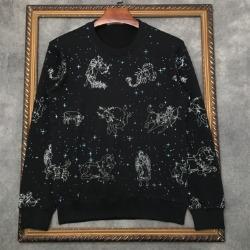 111054 세인트 비즈 프린팅 맨투맨 티셔츠(Black)