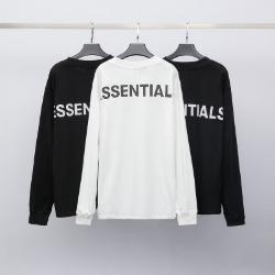 111177 에센셜 백 프린팅 루즈핏 긴팔 티셔츠(2color)