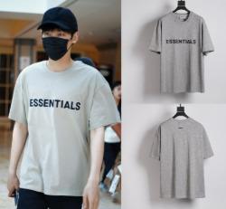 111388 FG 데일리 에센셜 오버핏 반팔 티셔츠(Gray)