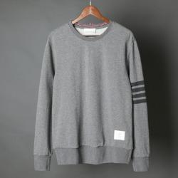 111328 TH 데일리 사선 견장 맨투맨 티셔츠(Gray)