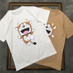 111544 GC 카우 카툰 프린팅 반팔 티셔츠(2color)