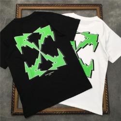 111550 썬더 에로우 프린팅 반팔 티셔츠(2color)
