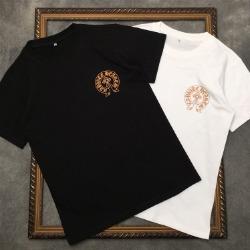 111557 컬러 멀티 크로스 프린팅 반팔 티셔츠(2color)